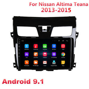 For 2013-2015 Nissan Altima Android 9.1 Stereo Radio GPS MP5 Player FM w/ Canbus