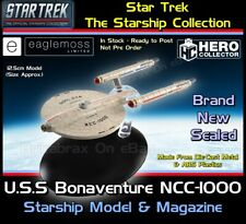 More details for star trek the starship collection u.s.s bonaventure ncc-1000 starship model new