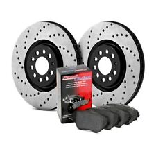 For Honda Civic 2013-2018 StopTech 939.40024 Street Drilled Front Brake Kit