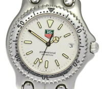 TAG HEUER S/el S99.006K white Dial Quartz Men's Watch_609077