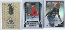 2013 Leaf Metal Draft GOLD PRISMATIC AUTO Hunter Harvey RC Real #1/1 Orioles