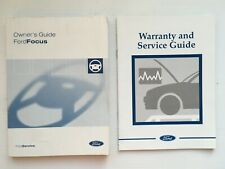 Ford Focus Owners Handbook Manual and Wallet 15-18