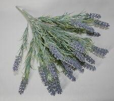 Artificial Silk Flowers 3 x Realistic Lavender Spray Bunch Stems Arrangement .