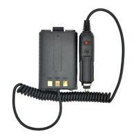 3X(FueR Baofeng Batterie Eliminator Auto Ladegeraet fuer Tragbares Radio UVM6Q5)