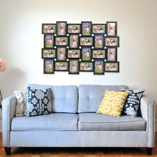 3D 24 Photo Frame Collage Picture Wall Mounted Multi Decor Memories Art Aperture