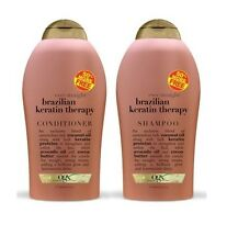 Organix Brazilian Keratin Therapy Shampoo & Conditioner 19.5 oz each SALE!!!