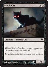 Black Cat, NM-English x 4 Dark Ascension mtg Low International Shipping ZOMBIE