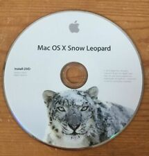 2010 Macintosh Mac OS X 10.6.3 Snow Leopard System Software Installation DVD