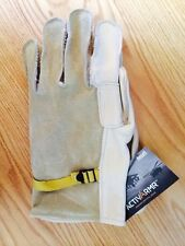 Ansell Protective Products ActivArmr Heavy Duty Cattlehide Gloves, Size 5