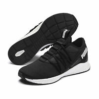 PUMA NRGY Star Mens Sports Shoes Black White Running Trainers 192568
