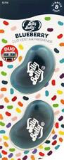 1 x Twin Pack 3D JELLY BELLY Clip Vent DUO Bean Gel BLUEBERRY Air Freshener