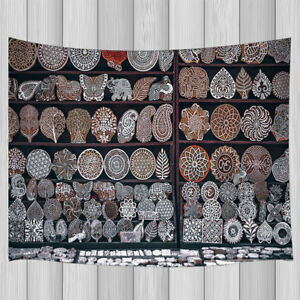 Paisley Pattern Artwork Collection Mandala Tapestry Wall Hanging Multiple Sizes