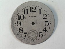 Vintage Elgin 0 Size Military Looking Wristwatch Dial             (d-42)