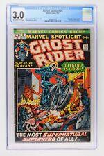 Marvel Spotlight #5 - Marvel 1972 CGC 3.0 Origin & 1st App of Ghost Rider!