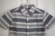 Penguin by Munsingwear Boy's Short Sleeve Button Front Dress Shirt size 4 New