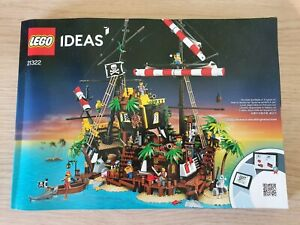 Lego Ideas: Pirates of Barracuda Bay 21322 Instructions only!! Pirates City
