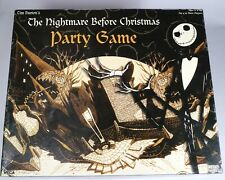 Tim Burton's The Nightmare Before Christmas Party Game by NECA 100% COMPLETE