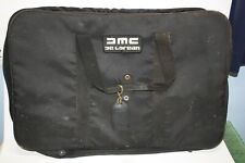 DMC Delorean Vintage Pierre Cardin Designer Suit Travel Bag Garment Bag Luggage