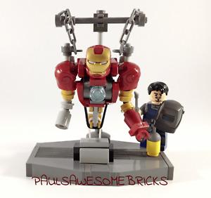 Lego Iron Man Construction Lab - ONLY 100% GENUINE LEGO PARTS USED