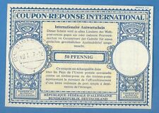 1957 GERMANY INTERNATIONAL REPLY COUPON 50 PFENNIG 1061