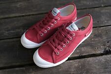 Simple Shoes - SLO Sneaker - Red Canvas - Mens 9 Womens 11