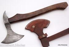 Damascus Knife Custom Handmade  - 20.00 Inches ROSE WOOD HANDLE AXE
