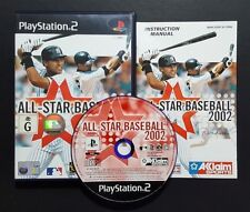 All-Star Baseball 2002 (Sony PlayStation 2, 2001) PS2 Game - FREE POST