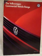 Volkswagen  VW Commercial Range Brochure Dated 1995 Golf T4 LT