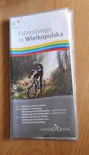 Fahrradwege in Wielkopolska Polen + Touren von 104 bis 280 km