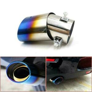 Car Auto Rear Exhaust Pipe Tips Tail Muffler Steel Accessories Car NEW A5F0
