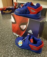 adidas Spider-man Rapidarun I Blue Red Infant Toddler US 4 UK 3 Shoes CG3225