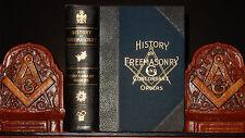 MASONIC HISTORY FREEMASONRY ROSICRUCIAN OCCULT KNIGHTS TEMPLAR CONCORDANT ORDERS