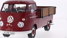 Premium Classixxs 1965 VW T1 Großraumpritsche Porsche Red 1:18 *New!
