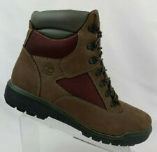"Timberland Field 6"" (A1W2B) Waterproof Boot Men's Size 13 Dark Brown"
