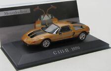 Mercedes Benz c111-II (1970) orange-or/Ixo 1:43
