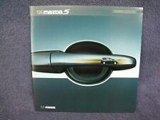2006 Mazda5  Dealership Sales Fold-Out Brochure