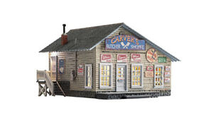 Woodland Scenics BR5068 Built & Ready HO Structure CARVER'S BUTCHER SHOPPE - NEW