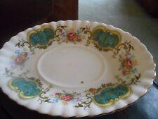 Royal Albert berkley Bone china trinket dish 8.5 inches long 5.5 inches wide VGC