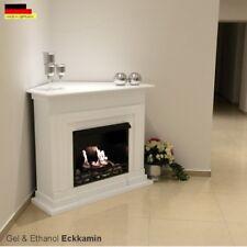 Fireplace Corner OLYMP incl. 27 piece set ethanol & Fire Gel chimney