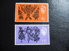 SG669-670 1965 Commonwealth Arts Festival. Mint Never Hinged Set of Stamps.