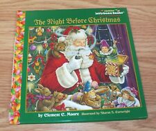 Junior Jellybean The Night Before Christmas Hardcover Book By Clement Moore