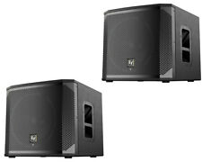 "2x Electro-Voice EV ELX200-12SP 12"" Powered Bass Speaker 2400W Sub"