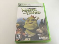 Shrek the Third (Microsoft Xbox 360, 2007) XBOX 360 NEW