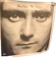 """Album Covers - Phil Collins - Face Value (1981) Album Cover Poster 24""""x 24"""""""