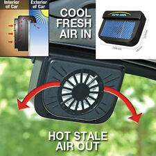 Cooler Radiator Solar Powered Car Window Windshield Auto Air Vent Cooling Fan
