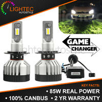 LIGHTEC V11 CANBUS 85W 8000LM H7 SLIM LED CONVERSION CAR HEADLIGHT BULBS KIT UK