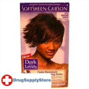 BL Dark & Lovely Color #373 Brown Sable - THREE PACK