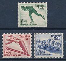 Ungeprüfte Briefmarken aus dem deutschen Reich (1933-1945) mit Olympische Spiele