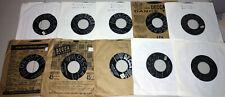 BILL HALEY & His Comets-LOT of 10 Original 1950s ROCKABILLY 45s!
