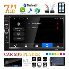 Stereo autoradio 2 din 7 pollici touch screen bluetooth aux usb sd 7018B